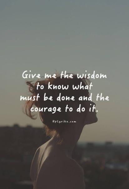 Är du en av dom som behöver utmana din rädsla?
