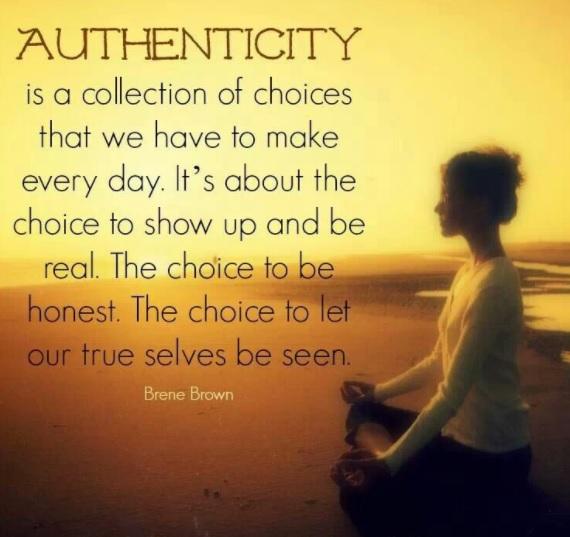OM ärlighet och att säga JA till sig själv!