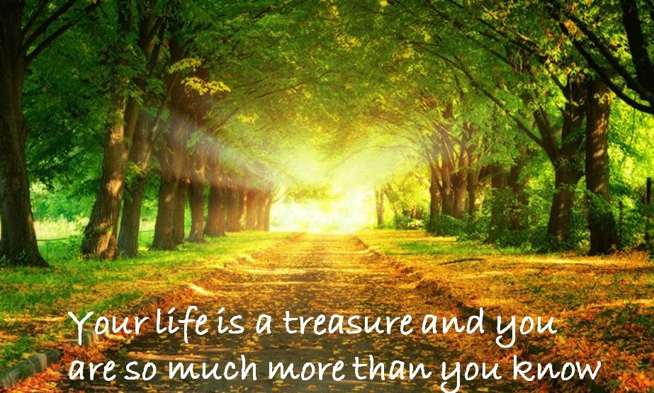 Livet är så mycket mer än det vi tillåter oss själva